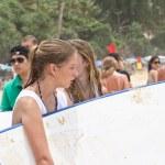 Kata beach, Phuket Thailand - September 6: Unidentified particip — Stock Photo #31290675