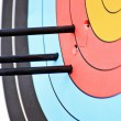 Stock Photo: Archery target