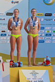 PHUKET, THAILAND - NOVEMBER 3: Emily Day and Summer Ross of Amer — 图库照片