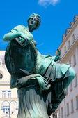 Donner fontein standbeeld — Stockfoto