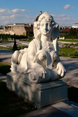 Mythical sphinx — Stock Photo