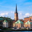 Riddarholmen Church Stockholm — Stock Photo #13841949