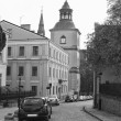 Stock Photo: Sandomierz street leading to cathedral