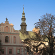 Church of St. Michael in Sandomierz — Stock Photo