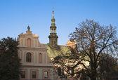 サンドミエシュの聖ミカエル教会 — ストック写真