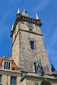 Old Town Hall Tower in Prague — Stock Photo