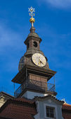 Synagogue Clock Tower — Stock Photo