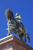Monument to Karl XIV Johan — Stock Photo