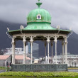 Gazebo in the center of Bergen — Stock Photo