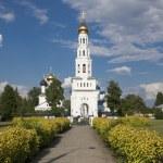 Temple complex in Zavidovo — Stock Photo