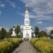 Temple complex in Zavidovo — Stock Photo