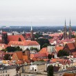 Wroclaw from a high tower — Stock Photo