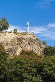 Monumento de la cruz en budapest — Foto de Stock