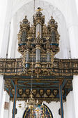 Organ in St Mary's Cathedral in Gdansk — Photo