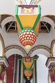 Eleiment veranda dekorationen — Stockfoto
