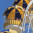 Stock Photo: Cabs Ferris wheel