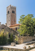 Old bell tower in Motovun - 2 — Stock Photo