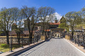 The central gate Akershus Festning — Stockfoto