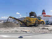 Stone crusher — Stockfoto