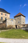 A medieval castle that was used as a prison — Stockfoto