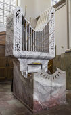 A small organ in the church — Foto Stock