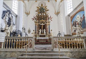 Altar of the church of the Holy Trinity — Stock Photo