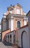 Church and Monastery of Poor Clares sisters-2 — Stockfoto