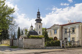 Kyrkan av st nicholas i zamosc — Stockfoto