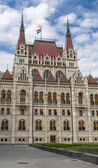 One of the entrances to the Hungarian Parliament — Foto Stock