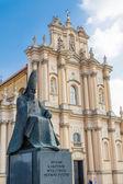 Monument to Cardinal Stefan Wyszynski — Stock Photo