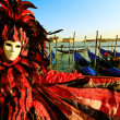 Mask in Venice, Italy — Stock Photo #27712059