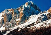 Mountain top in the dolomiti mountains — Stock Photo
