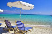 Lonely beach — Stock Photo