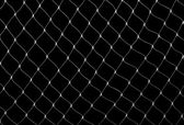 Net on black — Stock Photo