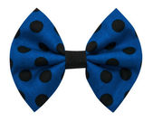 Handmade bow tie isolated on white background — Stock Photo