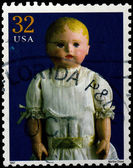 USA - CIRCA 1997 : Stamp printed in the USA shows Martha Chase d — Stock Photo