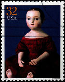 USA - CIRCA 1997 : Stamp printed in the USA shows Izannah Walker — Stock Photo
