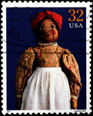 USA - CIRCA 1997 : Stamp printed in the USA shows Babyland Rag d — Stock Photo