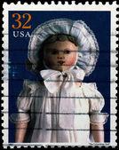 USA - CIRCA 1997 : Stamp printed in the USA shows The Columbian  — Stock Photo