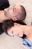 African man and asian woman lover — Stockfoto