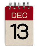 Dezember Kalender — Stockfoto