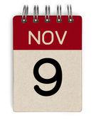 Nov kalender — Stockfoto