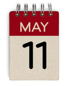 11 Mai Kalender — Stockfoto