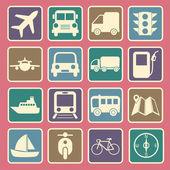 Transport icon — Stock Vector