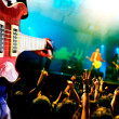 Stock Photo: Music live background,