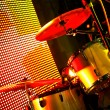 Stock Photo: Drum on stage
