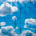 Abstract sky mosaic — Stock Photo #25752907