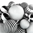 Abstract balls - Stock Photo