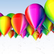 Stock Photo: Colored balloon