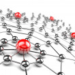 Foto Stock: Networking concept